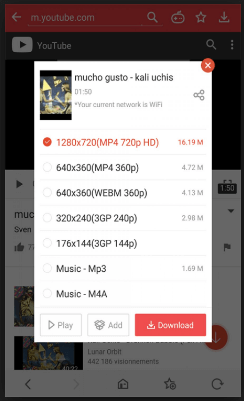How To Download YouTube Videos Directly Using VidMate App